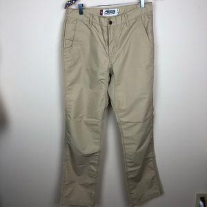 Mountain Khakis 33x34 slim fit Poplin pant